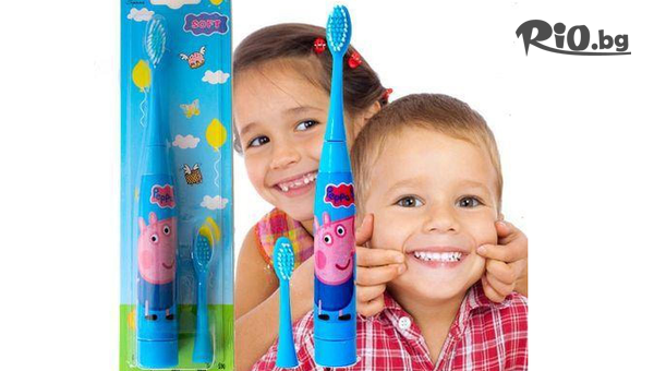 Детска електрическа четка за зъби #1