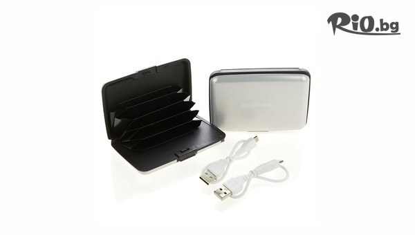 Портмоне-Външна батерия за телефон #1