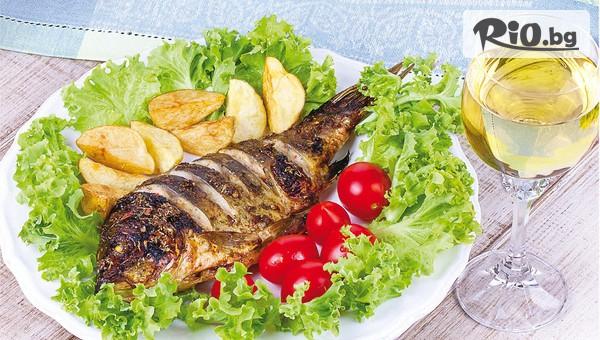 Вкусна рибка с гарнитура #1