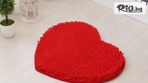 Постелка с формата на сърце #1