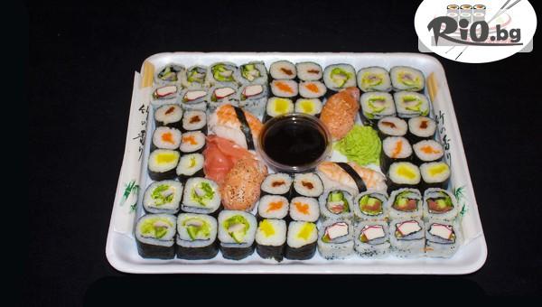 Суши сет т 54, 74 или 128 хапки #1