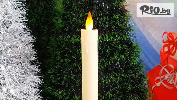Електронна коледна свещ #1