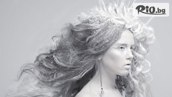 Ледена терапия за коса #1