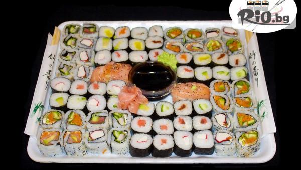 Суши сет от 54, 74 или 128 хапки #1