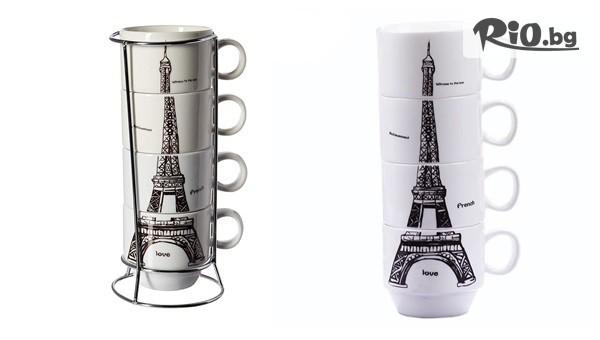 Керамични чаши Айфелова кула #1