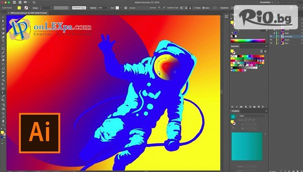 Курс за работа с Adobe Illustrator #1