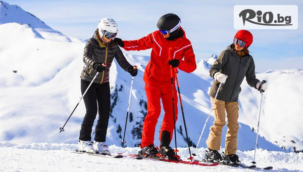 Урок по ски или сноуборд #1