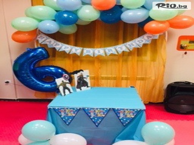 Детски парти клуб Звездички Галерия #7