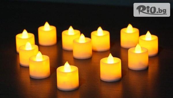 Електронни led чаени свещички #1