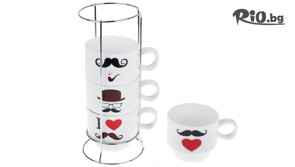 Комплект керамични чаши #1