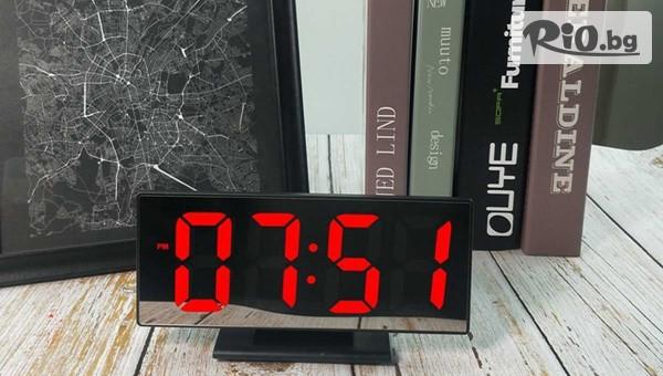 Настолен часовник с LED дисплей #1