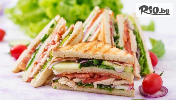 Клуб Сандвич + Фреш #1