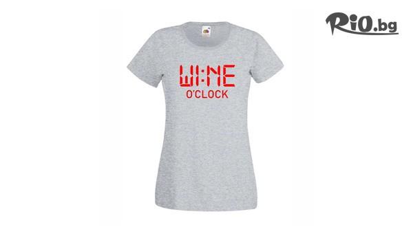 Тениска с надпис #1