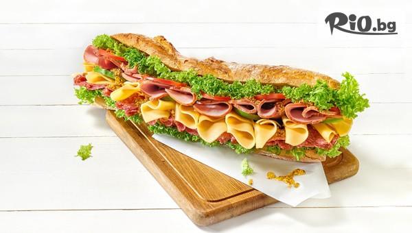 Комбо меню - салата, сандвич и десерт #1