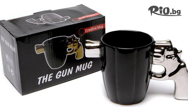 Керамична чаша пистолет #1