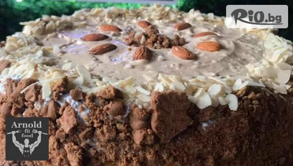 Парче протеинова торта #1