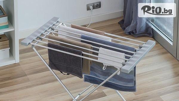 Удобен електрически сушилник за дрехи #1