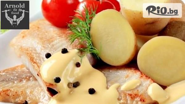 Тилапия със сладък картоф #1