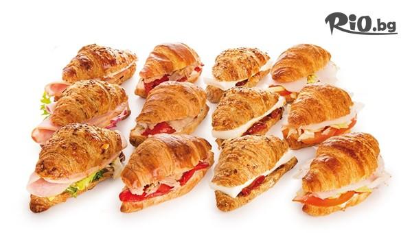 Мини сандвичи и кроасанчета #1