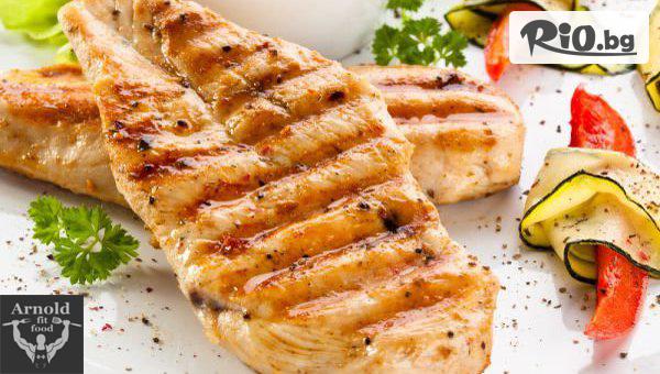 Пилешко филе със салата #1