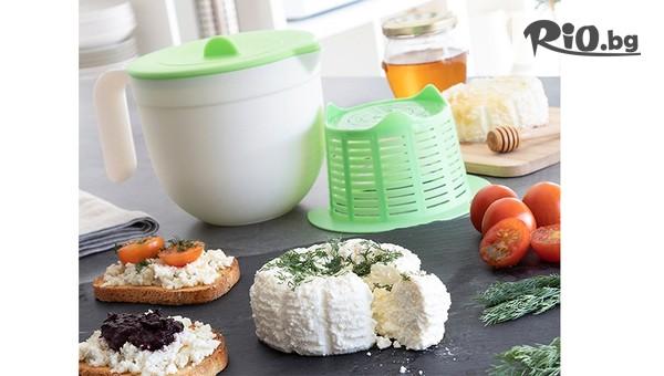 Прибор за приготвяне на домашно сирене #1
