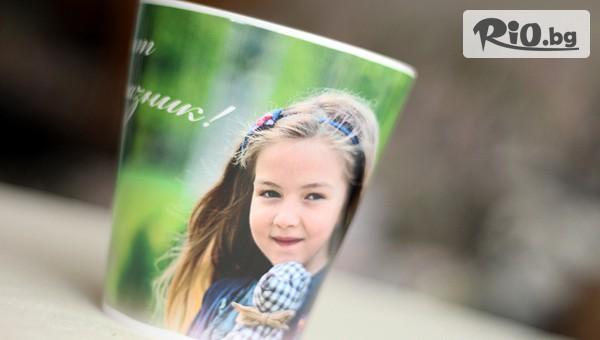 Порцеланова чаша със снимка #1