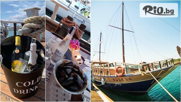 Гръцка вечер на яхта около Несебър #1