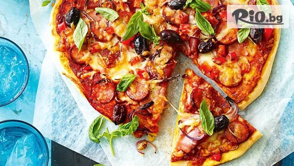 Пица или Пържола + Десерт #1