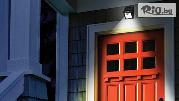 Соларна LED лампа с датчик за движение #1