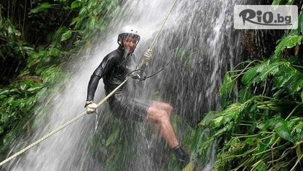 Каньонинг по водопад #1