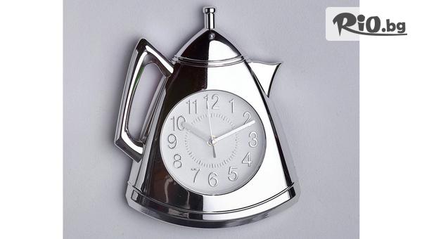 Стенен часовник Чайник #1