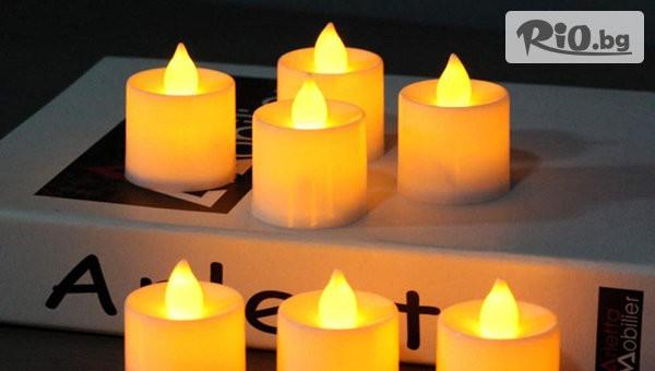 Комплект от 12 броя свещи #1