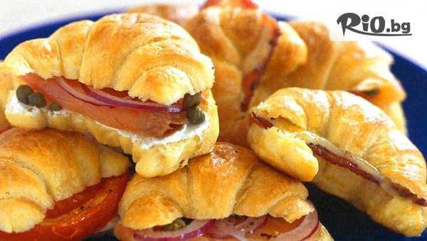 мини сандвичи и кроасани #1