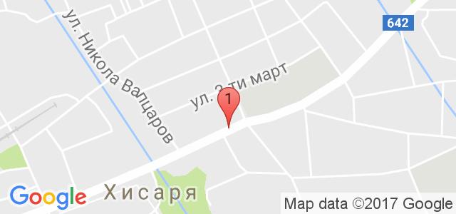 Ресторант-хотел Цезар Карта
