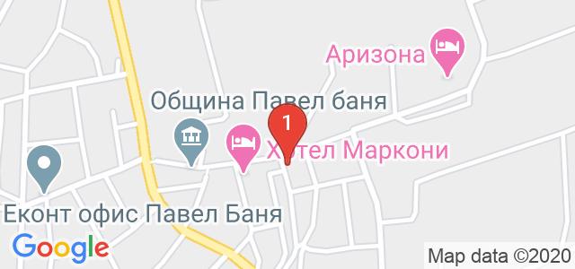 Хотел Централ Карта