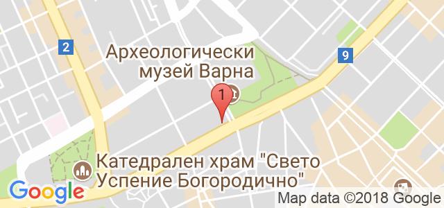 сватбена къща Карта