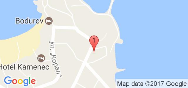 Хотел Лотос Карта