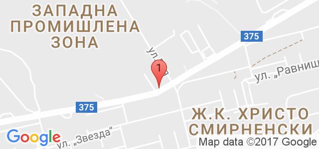 Автомивка Митев Карта