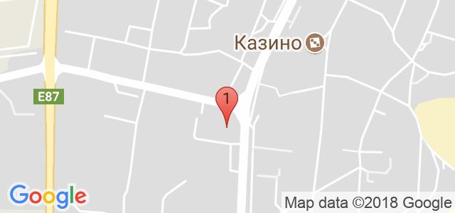Хотел Бохеми 3* Карта