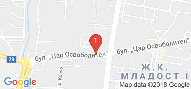 Детски кът Рая Ленд Карта