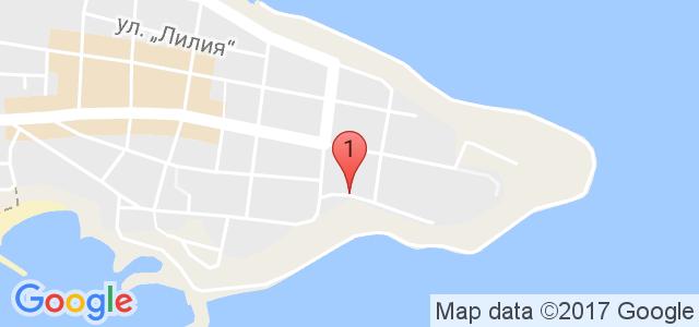 Апарт хотел Примавера 2 Приморско Карта