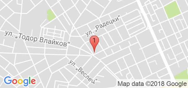 Хотел - Спа център Елица Карта