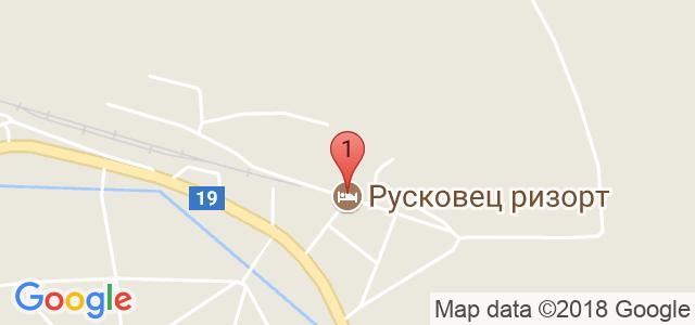 Ruskovets Resort Карта