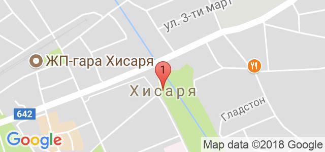 Хотел клуб Централ 4* Карта
