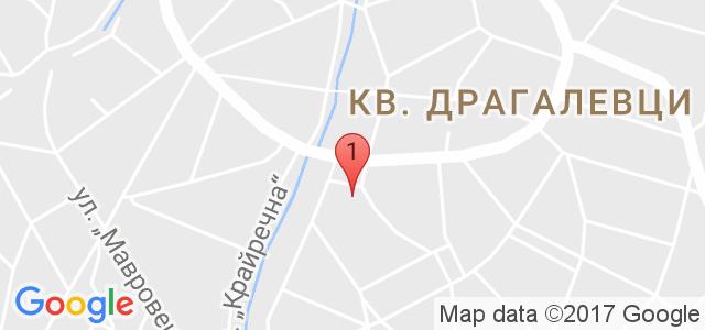 """Хотел """"Витоша Тюлип"""" – 3* Карта"""