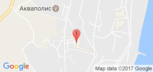 Хотел Helios Spa Карта