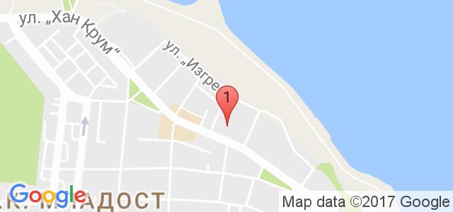 БЪТЕРФЛАЙ 2012 Карта
