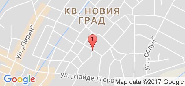 Перун Лодж, Банско Карта