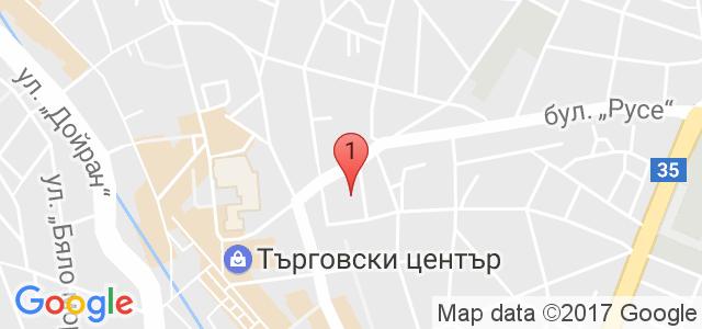 Масажен център  Карта