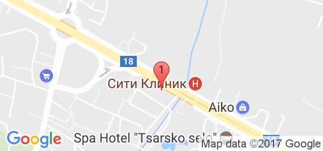 СПА център Царско Село Карта